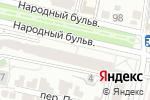 Схема проезда до компании Белгородская областная коллегия адвокатов №3 в Белгороде