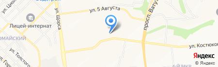 Центр медицинских комиссий на карте Белгорода