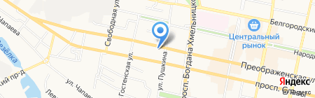ФЕНИКС на карте Белгорода