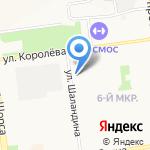 Пятёрочка на карте Белгорода
