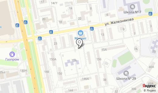 Хрусталь Белогорья. Схема проезда в Белгороде