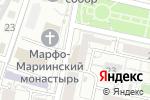 Схема проезда до компании Никс-Белгород в Белгороде