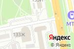 Схема проезда до компании PANDORA Lounge в Белгороде