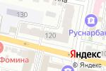 Схема проезда до компании Бархатный декор в Белгороде