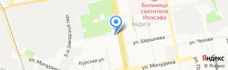 Белгородская ипотечная корпорация на карте Белгорода