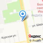 Лабиринт на карте Белгорода