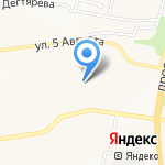 Средняя общеобразовательная школа №31 на карте Белгорода