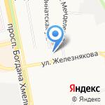 Почтовое отделение №23 на карте Белгорода