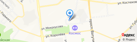 ORANGE ICE GYM на карте Белгорода