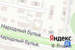 Схема проезда до компании Мегафон в Белгороде