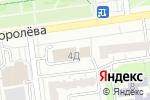 Схема проезда до компании Инлавка в Белгороде