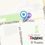 Артель на карте Белгорода