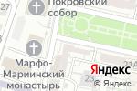 Схема проезда до компании Фрактал в Белгороде