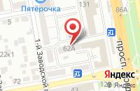 Схема проезда до компании ТехноСфера в Белгороде