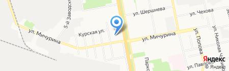 Фея на карте Белгорода