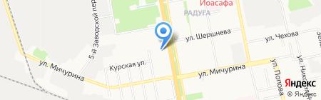 Общежитие на карте Белгорода