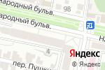 Схема проезда до компании Солнечный город в Белгороде