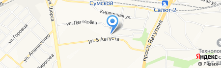 Небо на карте Белгорода
