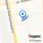 Колонка на карте Белгорода