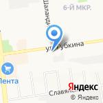 Гастрономчик №1 на карте Белгорода
