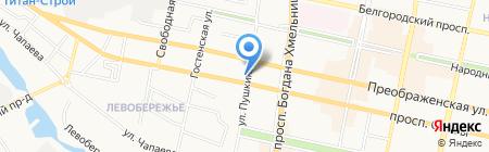 ТЭК на карте Белгорода