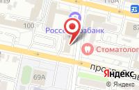 Схема проезда до компании ТЭК в Белгороде