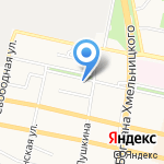 Солнечный город на карте Белгорода