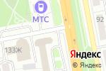 Схема проезда до компании Клиника современной стоматологии в Белгороде