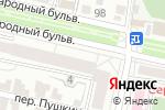Схема проезда до компании Дента-Л в Белгороде