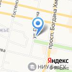Минбанк на карте Белгорода