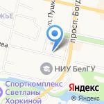 Эллада на карте Белгорода