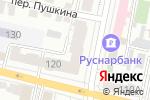 Схема проезда до компании ДАЙМЭКС в Белгороде