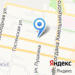 Электростиль на карте Белгорода