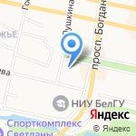 БелЛифт на карте Белгорода