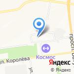 Оранжевый лёд на карте Белгорода