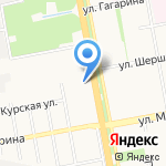 Андрей на карте Белгорода