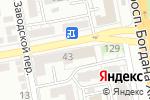 Схема проезда до компании Всероссийское Общество Слепых в Белгороде