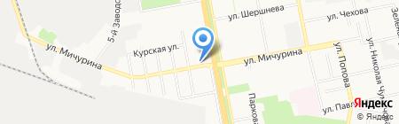Yeelo на карте Белгорода