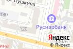 Схема проезда до компании Мастерская необычных букетов в Белгороде