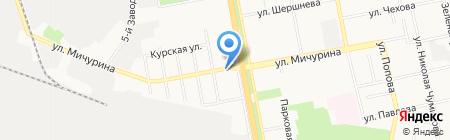 АвтоИнтер на карте Белгорода
