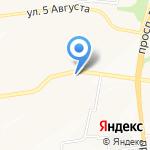 Маячок на карте Белгорода