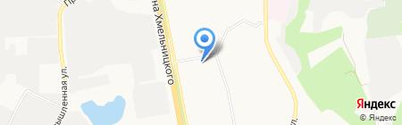 Промэлектрон на карте Белгорода