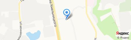 Еврохимчистка на карте Белгорода