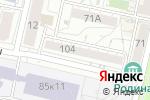 Схема проезда до компании 4doctors в Белгороде