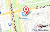 Схема проезда до компании ДмитРо в Белгороде