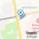 Ксения на карте Белгорода