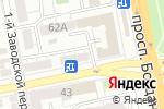 Схема проезда до компании Связьинформ в Белгороде