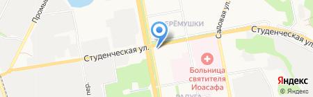 DNS на карте Белгорода