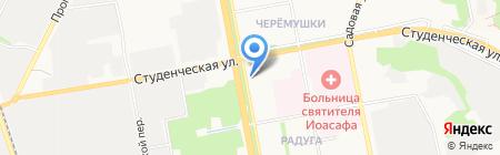 Продукты на карте Белгорода