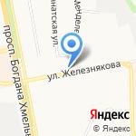 Овен на карте Белгорода